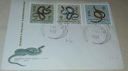 Reptiles Serpents Anguilles Polska 1963 - Serpents