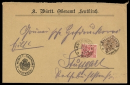 1917, Altdeutschland Württemberg, 203 + 239, Brief - Wurttemberg