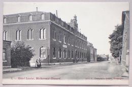 MICHEROUX HASARD 1917 HOTEL LOUISE Animée - Cachet Censure Allemande - Ed. Demarteau Bosson, Soumagne - Soumagne