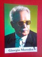Giorgio Moroder  , Father Of Disco - Autografi