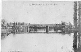 Suché. Le Pont Sur Le Loir. - France