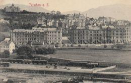 AK - Tschechien - Tetschen A.d. Elbe - Mit Bahngelände - 1909 - Tschechische Republik