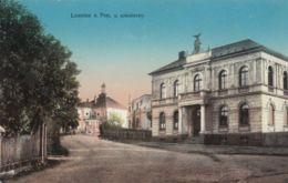 AK - Tschechien - LOMNITZ (Lomnice Nad Popelkou) - 1916 Mit Veranstaltungshaus - Tschechische Republik