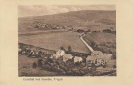 AK -Tschechien GRÜNTHAL Und BRANDAU (Brandov U. Zeleny Dul) Im Erzgebirge 1928 - Tschechische Republik