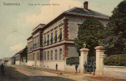AK -Ungarn - NAGYKANIZSA (Großkirchen) - Partie Bei Der Kaserne 1906 - Ungarn