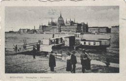 AK - Ungarn Budapest - Alte Fährstelle - Blick Zum Parlament - 1927 - Ungarn