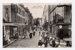 - CPA VANNES (56) - La Rue Saint-Vincent (belle Animation) - Collection H. Laurent 2699 - - Vannes