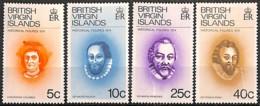 [829076]TB//**/Mnh-Vierges (Virgin Island) 1974 - N° 268/71,  Christophe Colomb, SC - Iles Vièrges Britanniques