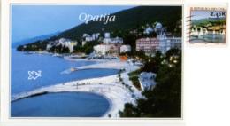 HRVATSKA  CROAZIA  OPATIJA  Panorama  Nice Stamp - Croazia