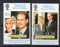 TRISTAN DA CUNHA  Timbres Neufs ** De 1999  ( Ref 6485 ) Famille Royale - Mariage - Tristan Da Cunha