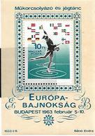 FRSP030 - UNGHERIA - CAMPIONATI EUROPEI PATTINAGGIO ARTISTICO BUDAPEST 1963 - Pattinaggio Artistico