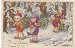 CPA - Thèmes - Fêtes - Voeux - Bonne Année - Anno Nuovo