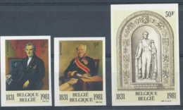 [53555]SUP//ND/Imperf-c:40e-N° 2001/03, 150e Anniversaire De La Dynastie Et Du Parlement. - Belgium