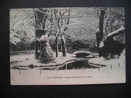 Besancon-Promenade Micaud Par La Neige 1914 - Besancon