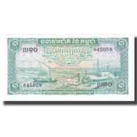 Billet, Cambodge, 1 Riel, KM:4b, NEUF - Cambodge
