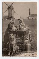 - CPA BRUXELLES (Belgique) - Laitières Flamandes 1905 (superbe Gros Plan Avec Attelage De Chien) - Edition E. G. 129 - - Ambachten