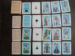 Jeu De 54 Cartes à Jouer Des Amoureux De Peynet Ediclub Rombaldi Parfait état Neuf En Boite Couleur Rouge - Carte Da Gioco