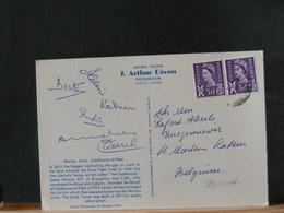 79/041A   CP POUR LA BELG. - 1952-.... (Elizabeth II)
