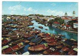 SINGAPORE RIVER (PUBL. KRUGER) / CIRCULATED TO AUSTRALIA-1970 - Singapore