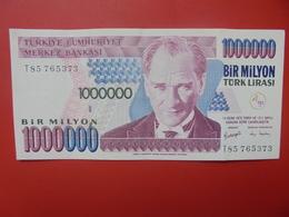 TURQUIE 1.000.000 LIRASI 1970(1998) CIRCULER(B.5) - Turquie