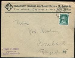 11286 DR Brief Osnabrück EV Verein Junger Männer 1928 - Deutschland