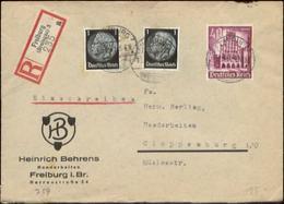 12107 DR R-  Brief  WHW Freiburg - Cloppenburg 1941 - Briefe U. Dokumente