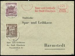 16679 DR Werbebrief MiF WHW Marken Mit Freistempel Elmshorn - Barmstedt 1941 , Bedarfserhaltung. - Briefe U. Dokumente