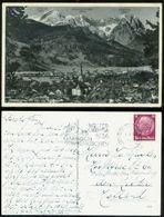 17376 DR AK Partenkirchen 15 Pfg EF Olympiade Werbestempel Garmisch - Den Helder Niederlande1934 , Bedarfserhaltung. - Briefe U. Dokumente