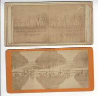VERSAILLES PHOTO STEREO CIRCA 1855 1865 /FREE SHIPPING REGISTERED - Photos Stéréoscopiques