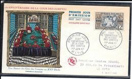 FDC 1957 - 1107  Sesquicentenaire De La COUR Des Comptes - FDC