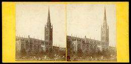 Stereoview - St Michael's Church Coventry - ENGLAND - C.1860s - Stereoscopi