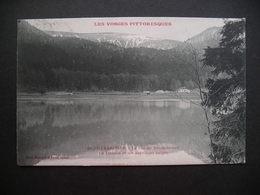 Gerardmer.-Le Lac De Retournemer Le Honeck Et Ses Dernieres Neiges 1906 - Gerardmer
