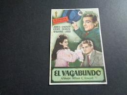 Artiste ( 244 )  Acteur - Affichette Espagnol Cinéma  Ciné Espagne  Espana : James Cagney  Grace George - Publicidad