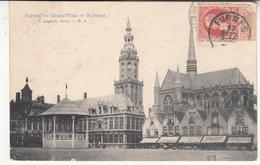 Belgique - FOC - Furnes - Grand Place - Kiosque - Veurne