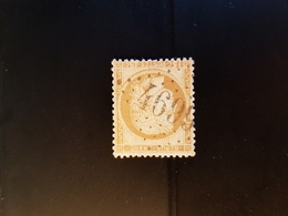 N°59, 15 Cts Bistre Ceres,  GC 4699, Loulans Les Forges, Haute Saône. - Marcophilie (Timbres Détachés)