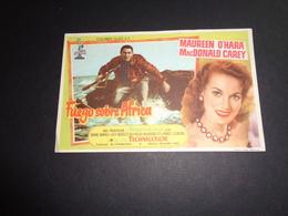 Artiste ( 249 )  Acteur - Affichette Espagnol Cinéma  Ciné Espagne  Espana  :  Maureen O ' Hara - Publicidad