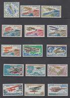 Monaco 1964 Airplanes 15v ** Mnh (43972C) - Ongebruikt