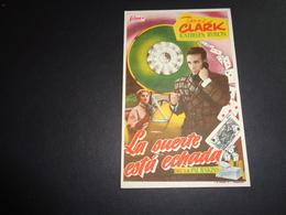 Artiste ( 256 )  Acteur - Affichette Espagnol Cinéma  Ciné Espagne  Espana  : - Publicidad
