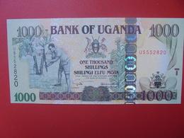 OUGANDA 1000 SHILLINGI 2001-09 PEU CIRCULER(B.5) - Ouganda