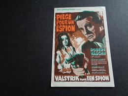 Artiste ( 259 )  Acteur - Affichette Cinéma  Ciné  Film : Piège Pour Un Espion - Robert Vaughin - Merchandising