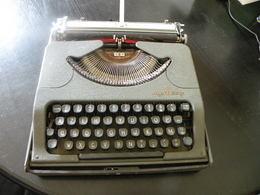 Machine à écrire Portable Ultra Plate ROOY Coffret Coulissant Bel Objet De Déco ! - Other