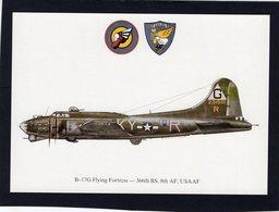 B-17G Flying Fortress  -  366th BS, 8th AF, USAAF  -  CPM - 1939-1945: 2ème Guerre