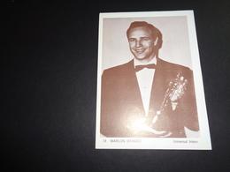 Artiste ( 263 )  Acteur  Cinéma  Ciné   Film  Bioscoopreclame Sint - Niklaas Reclame : Marlon Brando - Publicité Cinématographique