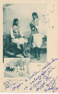701/29 - EGYPT Ancient Multiple Views Card Running Seis , Editor Not Mentioned - Used CAIRE 1901 To ATHENS - Autres