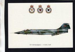 CF-104 Starfighter  -  1 CAG, CAF   -  CPM - 1946-....: Ere Moderne