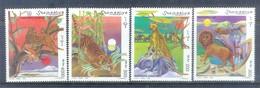 B25- Somalia 1998 Felini Animali Animals Big Cat Lion Tiger. - Somalia (1960-...)