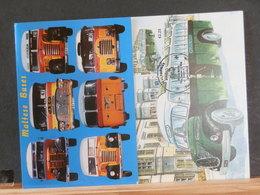 79/024A   6 MAXI CARTES   MALTA BUS - Bus