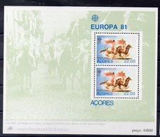 PORTUGAL  - ACORES   Timbres De 1981  ( Ref 6602 ) EUROPA - Azores