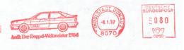 Freistempel 7482 Audi Weltmeister 1984 - Poststempel - Freistempel