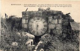 MONTFAUCON - Poste De Mitrailleuse - Le Cadran De L' Eglise (115162) - Weltkrieg 1914-18